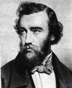 Portrait Adolph Sax Inventeur du Saxophone